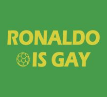 Ronaldo is Gay by Paducah
