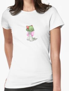 Pokemon Doodles - Ralts Womens Fitted T-Shirt