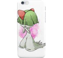 Pokemon Doodles - Ralts iPhone Case/Skin