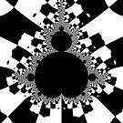 White Mandelbrot III by Rupert  Russell