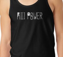 "HiiiPOWER (""There He Go"" Version / White) Tank Top"