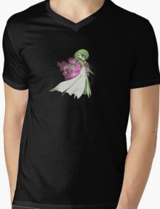 Pokemon Doodle - Gardevoir Mens V-Neck T-Shirt