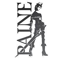 Paine - Final Fantasy X-2 Photographic Print