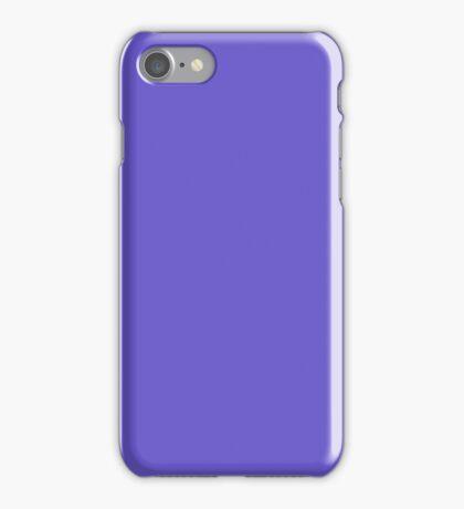 PURE COLOR-Slate Blue iPhone Case/Skin