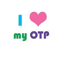 I Heart My OTP Phone Case by CreativeStuff
