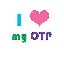I Heart My OTP iPad Case by CreativeStuff