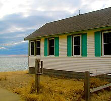 Cabin in Provincetown  by GleaPhotography