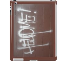 Help4 iPad Case/Skin
