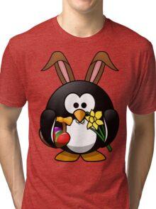 Easter Penguin Tri-blend T-Shirt
