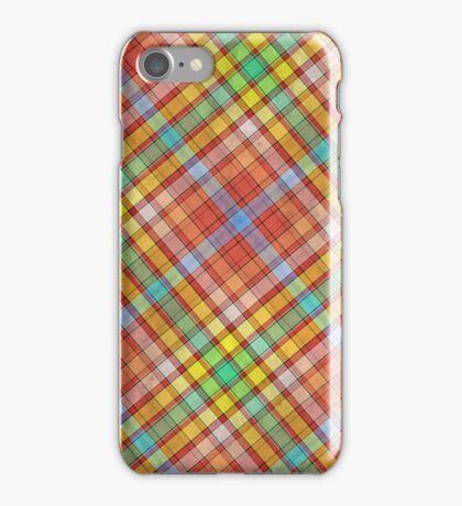 PLAID-8 iPhone Case/Skin