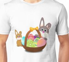 Easter Eggs with Rabbit Baby Unisex T-Shirt