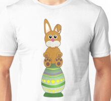 Easter Eggs with Rabbit Unisex T-Shirt