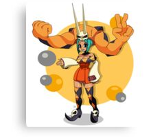 Cerebella (Skullgirls) Canvas Print
