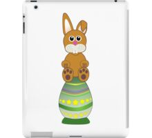 Easter Eggs with Rabbit iPad Case/Skin
