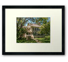 Grover Cleveland's Birthplace, Caldwell NJ, USA Framed Print