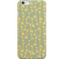 CARTOON PATTERN-giraffe iPhone Case/Skin