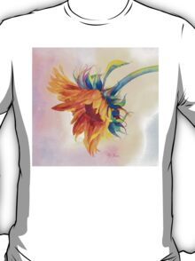 A Golden Sunflower Dresses Up Your Teeshirt! T-Shirt