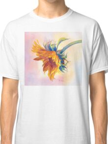 A Golden Sunflower Dresses Up Your Teeshirt! Classic T-Shirt