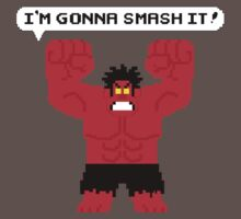 I'm Gonna Smash It! Red Hulk alt. by leidemera