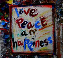 love peace an' happiness by songsforseba