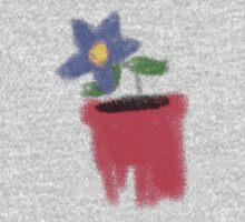 Mummy's Little Flower One Piece - Long Sleeve
