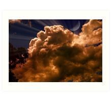 Clouds Illusions Art Print