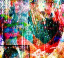 inside myself I hide the smiles Sticker