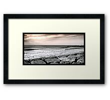 Costa da Caparica Sunset Framed Print