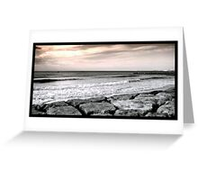 Costa da Caparica Sunset Greeting Card