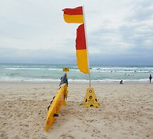 Broadbeach Surf Rescue by FangFeatures