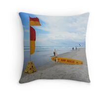 Surf Rescue Broadbeach 6 April 2014 Throw Pillow