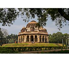 Tomb of Mohammed Shah (Lodhi Garden) built 1444 New Dehli, India Photographic Print