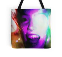 Colorful Scream Tote Bag