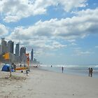 Surfers Paradise from Broadbeach Beach by FangFeatures