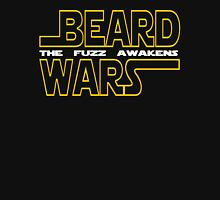Beard Wars The Fuzz Awakens Men's Funny Beard Sci-fi T-Shirt. Unisex T-Shirt