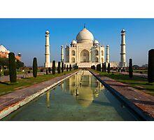 Taj Mahal , Agra India Photographic Print