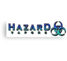 Hazard Vapors Shirt Canvas Print