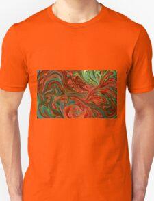 Colorful swirls T-Shirt