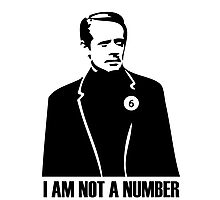 I Am Not A Number Photographic Print