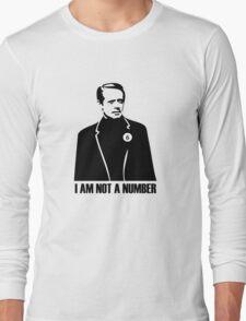 I Am Not A Number Long Sleeve T-Shirt