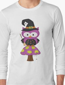 Witchy Owl  Long Sleeve T-Shirt