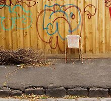 Brunswick Abandoned - Chair. Melbourne by Suzanne Phoenix