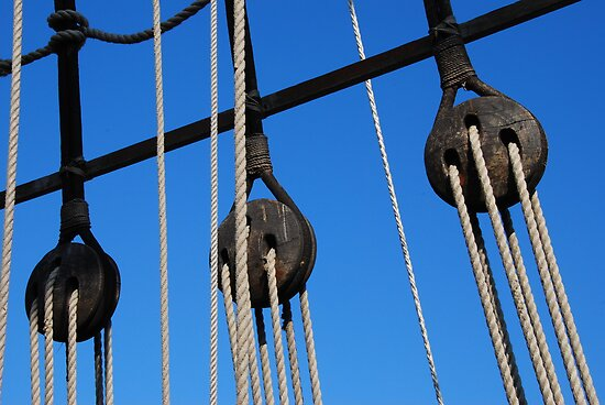 Ropes and Pulleys by Adri  Padmos