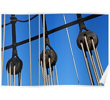 Ropes and Pulleys Poster