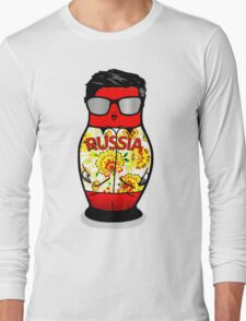 Nesting Doll Russia Long Sleeve T-Shirt