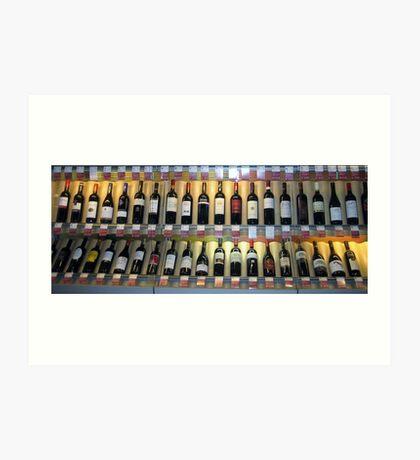 Stockholm Wine Rack Art Print