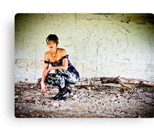 Punk: Under The Bridge Canvas Print
