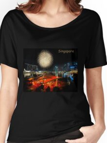 Fireworks By The Bay (T/SG) Women's Relaxed Fit T-Shirt