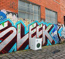 Brunswick Abandoned - Dryer. Melbourne  by Suzanne Phoenix