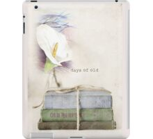 Days of old... iPad Case/Skin